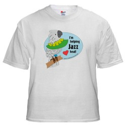 Helping Jazz Heal t-shirt (simulated)